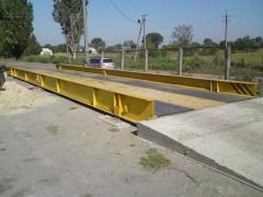 Scales are automobile platform