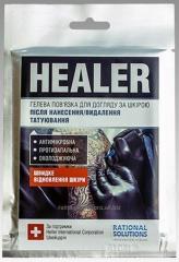 Гелевая повязка для кожи после удаления татуировки Healer Gel