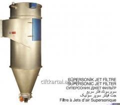 Flour-grinding filter, supersonik Jett filter