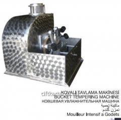 Ковшовая увлажнительная машина для зерна