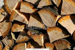 The raw materials are wood, firewood