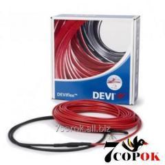 Кабель нагревательный Devi DeviFlex 18T 34м