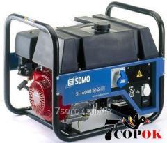 Бензиновый генератор Sdmo SH 6000-ES