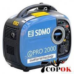 Бензиновый генератор Sdmo Inverter Pro 2000