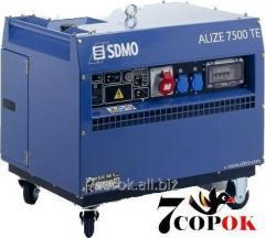 Бензиновый генератор Sdmo Alize 7500 TE