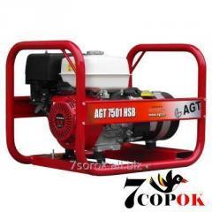 Бензиновый генератор AGT 7501 HSBE
