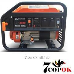 Бензиновый генератор Daewoo GDA 3800