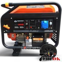 Бензиновый генератор Daewoo GDA 6800E