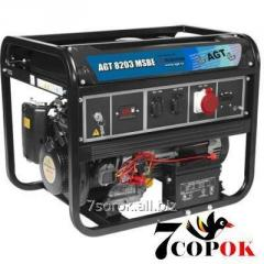 Трехфазный Бензиновый Генератор AGT 8203 MSB