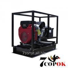 Трехфазный Бензиновый генератор AGT 14003 HSBE R16