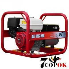 Трехфазный Бензиновый Генератор AGT 8503 HSB PL