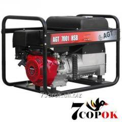 Бензиновый генератор AGT 7001 HSB TTI