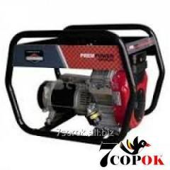 Бензиновый генератор AGT 8000 EAG