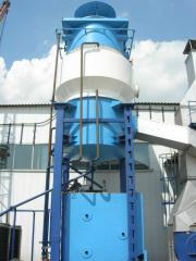 Equipment of gas-purifying complexes