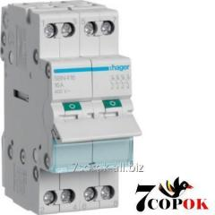 Hager I-0-II SFT440 switch