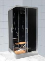 The rectangular hydrobox with a black add-on of