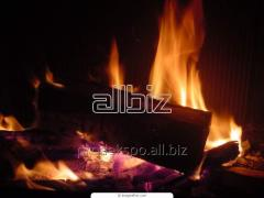 Firewood in bags Ukraine
