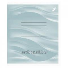 Notebook (cage, line) of 12 sheets