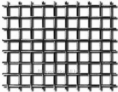 The woven corrosion-proof grid is a metal gauze