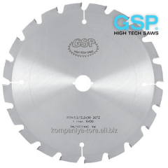 Circular saws GSP TZ 500х4,0/2,5х30-80 Z=36 for