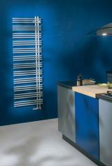 Design zehnder yucca asymmetric heated towel rail