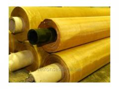 The brass grid is made of a brass wire mainly of