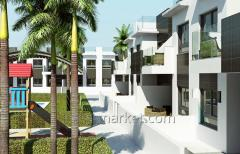 New residential complex in the town of Pilar de