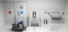 Organization of sanitary locks