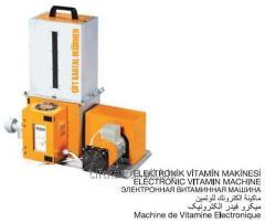 Electronic vitamin machine