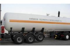 The semi-trailer tank for ammonia 45 cube