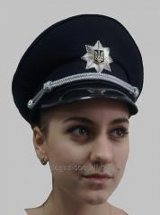 Police officer's peak-cap