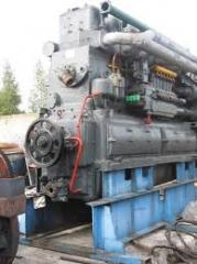 Spare parts of the diesels PD1M, D50, 6ChN21/21,