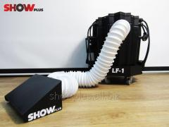 Set for work with a heavy smoke (the generator of