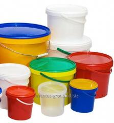 Bucket for foodstuff transparent 11,3 l