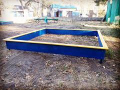 Sandbox of children's 2000х2000 mm.