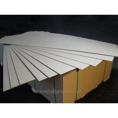DVP(HDF) the laminated White 2745x1700x3,0 mm