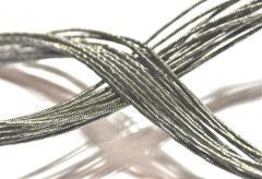 Strings for cutting of foam rubber, polyfoam, foam