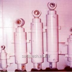 Double-acting hydraulic motor
