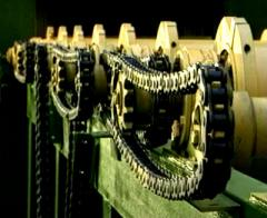 The spare parts which are fast-worn out to the drobemetny equipmen