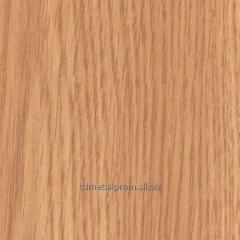 DVP(HDF) laminated the Oak of light 2745x1700x3,0