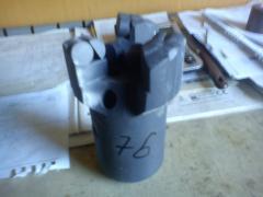 Chisel of 76 mm diamond gray BKVD