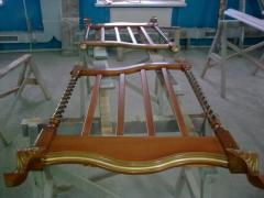 Lattice for a bed