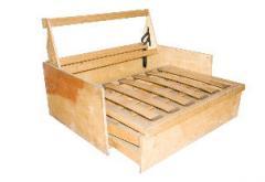 Framework on a sofa bed