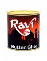 Ravi, Butter ghee  Volume: 900g Type of packaging: little metal tin2