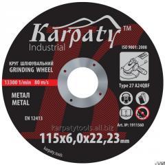 Circle abrasive grinding KARPATI™ INDUSTRIAL of