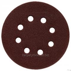 Circle abrasive grinding with a flypaper (with an