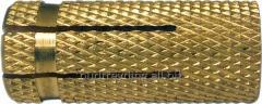 Expansion bolt shield brass (grip) M6x23 D8