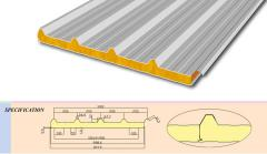 Panel sandwich roofing