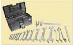 Set of metalwork tools intrinsically safe for gas