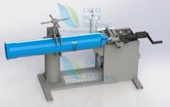 Device for hydrotest of the cylinders PGB-40
